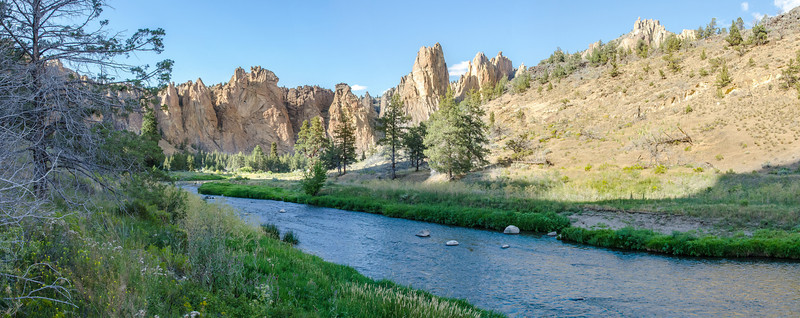 Crooked River, Smith Rock State Park (Central Oregon)