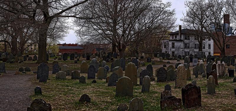 Salem MA - Witch Trials Cemetery