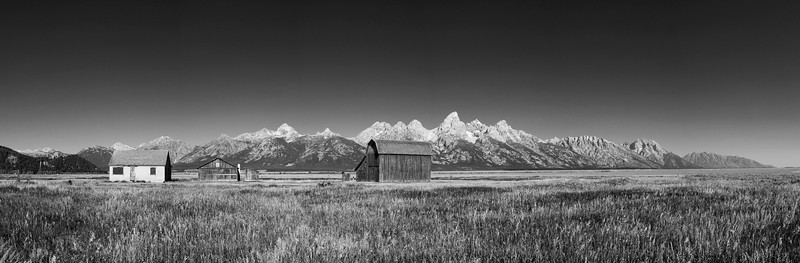 Gray House, Mormon Row, Grand Teton National Park