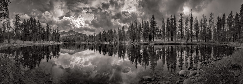 Chaos Crags from Reflection Lake