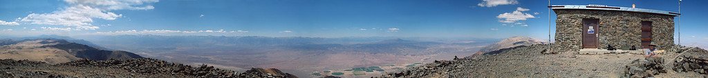 White Mountain Peak Panorama