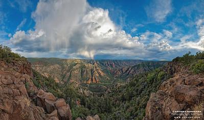 Sycamore Canyon Rain