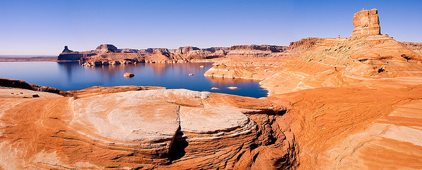 Cookie Jar Butte and Lake Powell