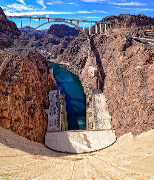 Hover Dam Marvel - Vertical Pano