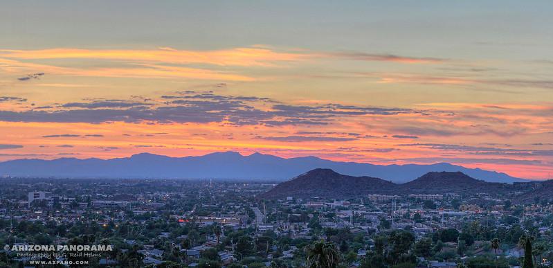 Sunnyslope Supermoon Sunset