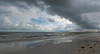 Gulf storm coming onto Ft Myers Beach in early June, 2016