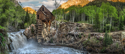 Crystal Mill, Marble, CO, summer