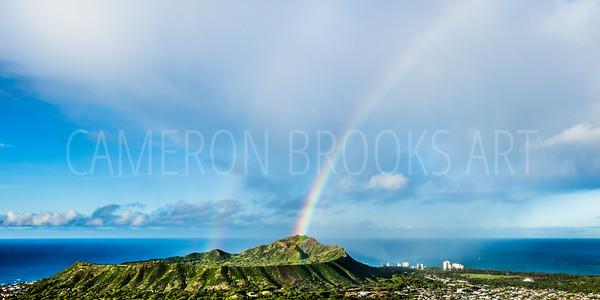 Diamdon Head Double Rainbow