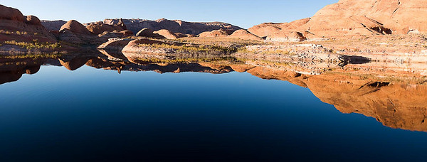 2009LakePowellPano003  Cottonwood Canyon, Lake Powell