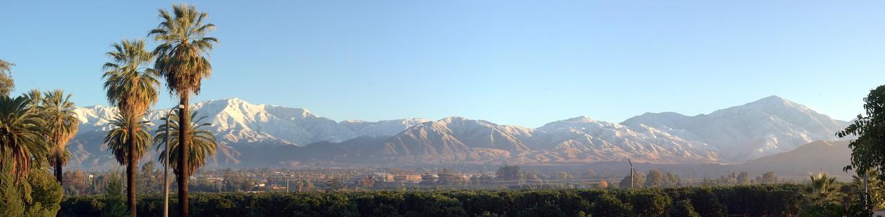 Redlands Winter Morning