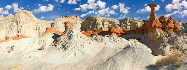 pan21: Toadstool Hoodoo, The Rimrocks, Grand Staircase-Escalante National Monument, Utah