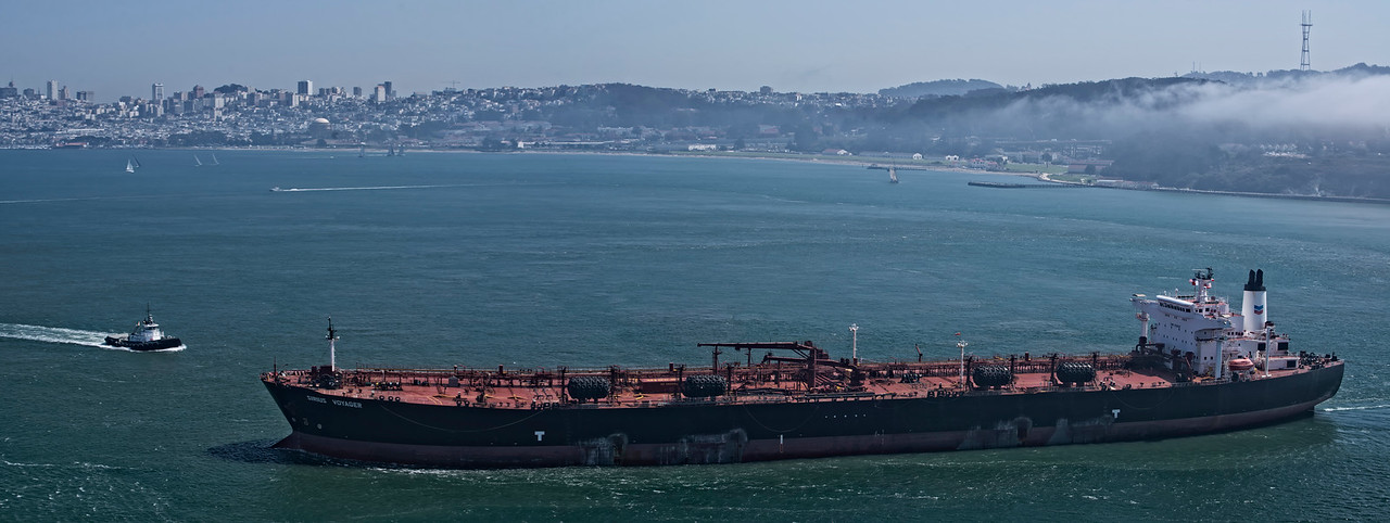 Oil Tanker Sirus Voyager Pano