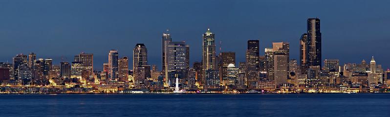 Seattle Skyline Aug3 2013