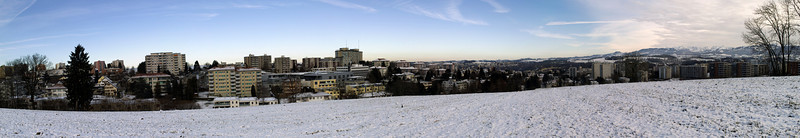 Fribourg Panorama, shot from above Cormanon<br /> Sigma DP1s (5 shots)