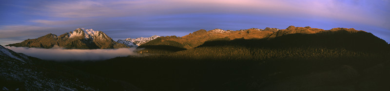 View from Martyr Hill: Collyer (left) and peak 1449