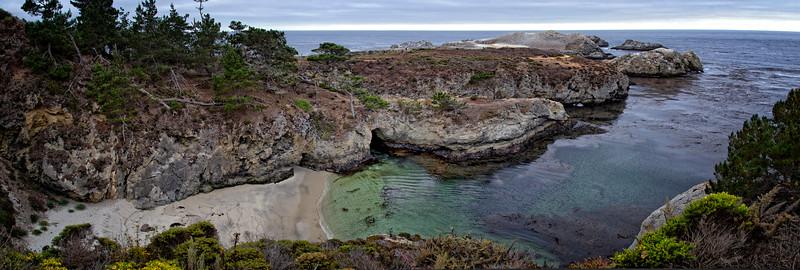 Monterey - Point Lobos - Landscape pano
