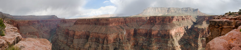 Toroweap  Panorama above the Colorado River