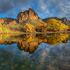 Fall on the Salt River at Bulldog Cliffs