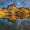Fall on the Salt River at Bulldog Cliffs