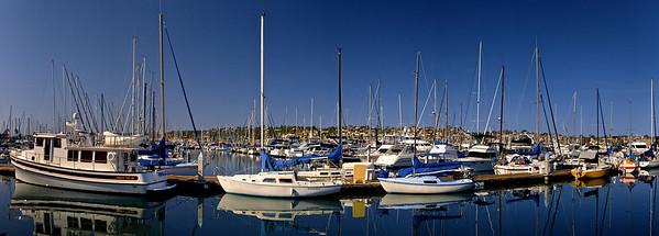 HalfMoon Bay, San Diego, CA - Panorama