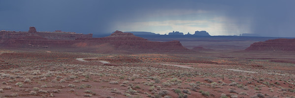 Showers In The Valley Of The Gods Utah