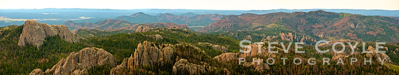 View from the top of Harney Peak. Highest point between the Rockies and the Alps. If you haven't been to the Black Hills in South Dakota, this is definitely someplace to put on your vacation list.