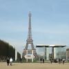 Eiffel Tower panorama.