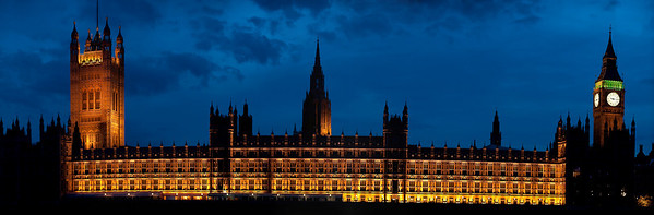 Parliment at night