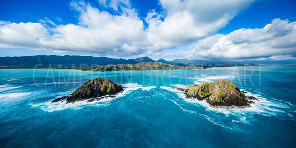 Mokulua Islands Backside