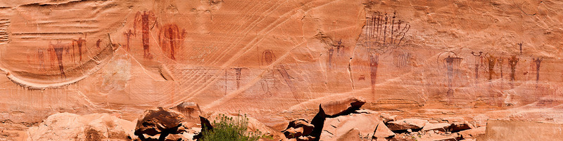 The Buckhorn Wash pictograph panel; San Rafael Swell, central Utah