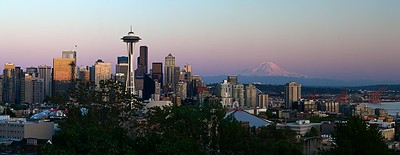 Seattle Evening from Kerry Park