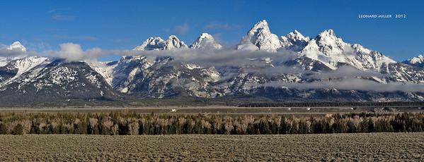 Grand Tetons - 2012