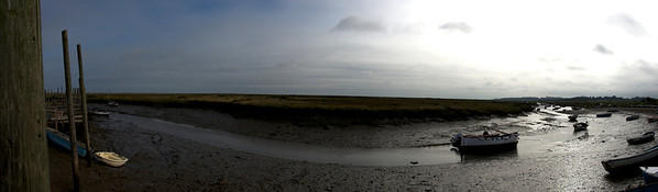 Morston Quay, the Norfolk coast