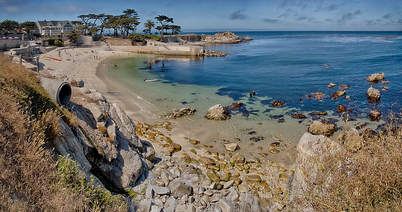 Pacific Grove - Pano - Lovers Point