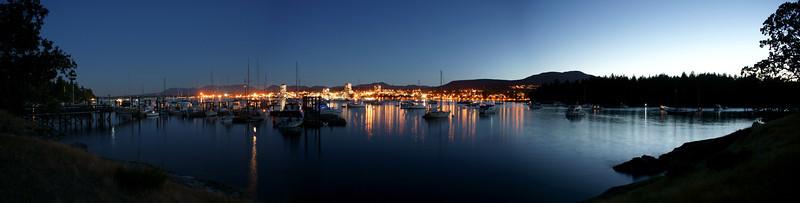 Newcastle Island panorama.