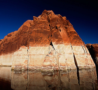 Cliff Reflections, Lake Powell, Utah