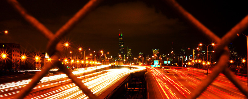 Chicago - looking north on 94.