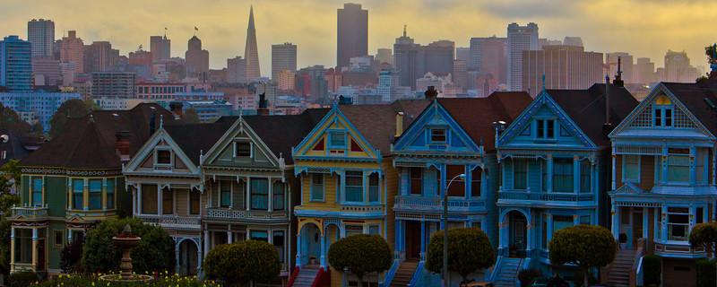 Painted Ladies S.F. CA