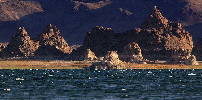 Ancient Shores<br /> <br /> A lake similar to Mono Lake.