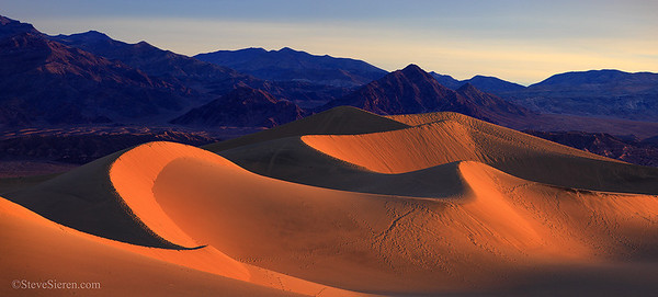 Death Valley's Mesquite Dunes