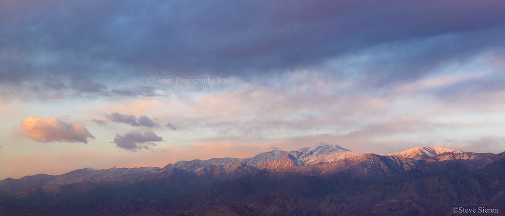 Telescope Peak Panoramic - Death Valley National Park, California