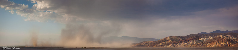 The Scale of a Sand Storm<br /> Death Valley, CA