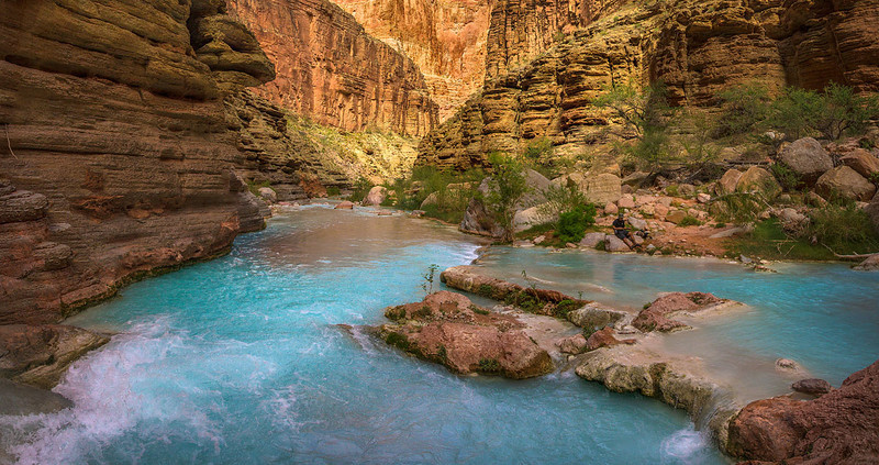 Havasu Creek Grand Canyon View