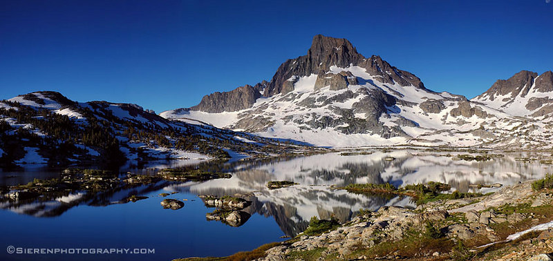 Solitude <br /> Thousand Island Lake - John Muir Wilderness<br /> Eastern Sierra Nevada Mountain Range, California