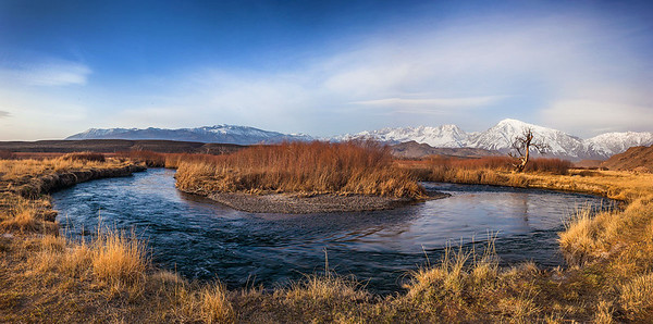 Owens River Bend Panoramic