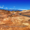 Road trip in desert
