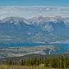 Lake Dillon, CO from the Top of Keystone Resort