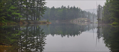 Killarney Lake, Killarney Provincial Park Ontario.