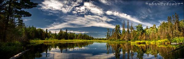 Tanner Lake. West Nipissing, Ontario.