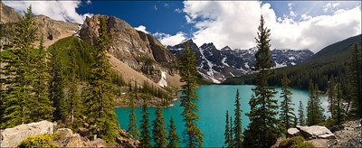 Moraine Lake. Banff Alberta, Canada.